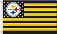 Steelers FLAG 3X5 Pittsburgh Banner American Football New Fast USA Shipping