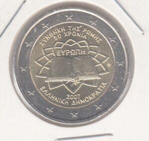 Griechenland  2 Euro  2007  Römische Verträge  bankfrisch