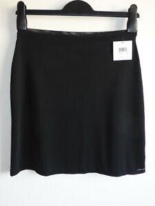 CALVIN KLEIN UNDERWEAR Size M Naked Glamour Stretch Half Slip BLACK