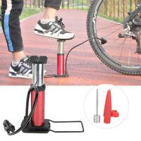 Light Portable Pressure Inflator Bike Bicycle Tyre Tire Mini foot hand Air Pump