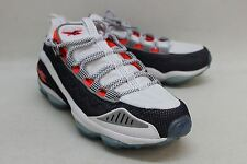 REEBOK Men's Black & White DMX Round Toe Lace Up Trainers Size UK 11 EU 45