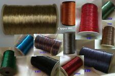 5 x Metallic Thread Yarn Spool Crochet Embroidery Handwork Crafting Tila. £10.99
