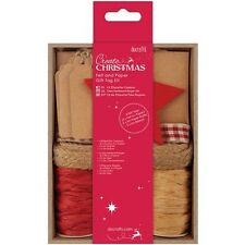 docrafts Papermania Create Christmas Felt & Paper Gift Tag Kit - 515617