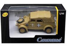 Cararama 1/43 Volkswagen Kubelwagen Sofe Top K Type 82 Diecast Tan (4-90750)