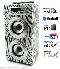 Altavoz Reproductor Bluetooth Biwond JoyBox MP3 USB SD MMC Aux SmartPhone Tablet