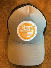 New CASE Construction 5 panel multicolored hat cap tractor heavy equipment A25