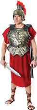 Men's Gladiator Centurion Spartacus Fancy Dress Roman Chest Plate With Cape