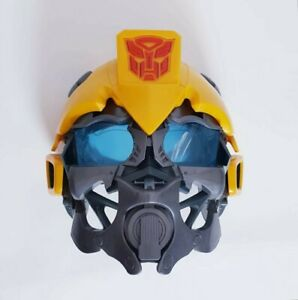 Transformers Bumblebee Voice Changing Kids Costume Mask Cosplay Face Shield