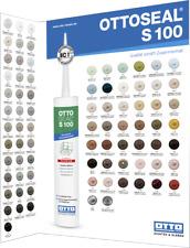 OTTOSEAL S 100 Premium Sanitär Silikon 3 x 300 ml Kartusche Farben A-G