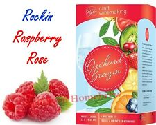RJ Spagnols Orchard Breezin Rockin Raspberry Rose White Zinfandel Wine Kit