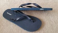 OLD NAVY Men's Navy Rubber Flip Flops Size 12-13 NEW
