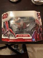 2009 Hasbro Star Wars The Clone Wars Crab Droid New NIB