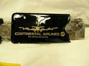 vintage Continental Airlines collectables the fan jet airline from the 70s?