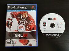 NHL 08 - PlayStation 2 - Free, Fast P&P! - 2008, Ice Hockey