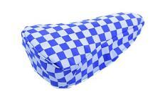 Blue & Bianco A Scacchi BICI Coprisella Tuta Retrò BMX, MTB o qualsiasi sella ciclo
