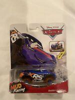 Disney Pixar Cars 1:55 scale Die-Cast XRS Mud Racing Barry DePedal car toy new
