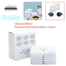 Pet Cat Dog Water Fountain Replacement activated carbon Filter Flower Drinking