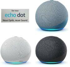 Amazon Echo Dot 4. Generation mit Alexa | Anthrazit Blaugrau weiß