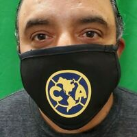 Club America Mouth and Nose Cover Face-Mask Triple Layer Protection