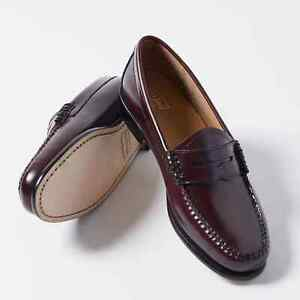 G.H. Bass & Co. Women's Weejuns Whitney Loafer in Burgundy Size 8 NEW $110