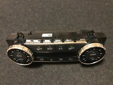 MERCEDES BENZ GL 350 X166 2015 A/C CLIMATE CONTROL PANEL A1669002012 USA TYPE