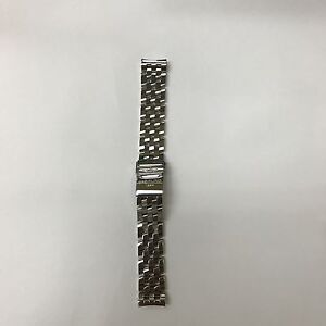 New Breitling Pilot Stainless Steel Bracelet 19mm 409A 100% Authentic