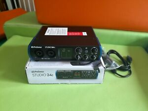 PreSonus Studio 24c - 2 Mic Pres - 2 Line Outs, USB-C Audio Interface - (067345…