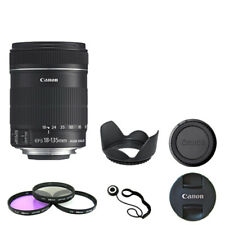 Canon EF-S 18-135mm f/3.5-5.6 IS STM Lens + Deluxe Accessory Kit