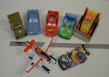 11 ) Disney Pixar Cars Set 7 verschiedene Cars Autos - Flugzeug aus Metall