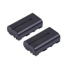 2x Li-ion NP-F550 NP-F330 NP-F570 F750 F930 F950 Battery for Sony Mavica Camera