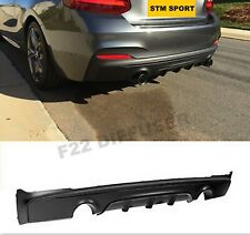 BMW 2 SERIES F22 F23 REAR BUMPER DIFFUSER LIP SPOILER SIDE SKIRT M SPORT