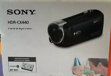 Sony HDR-CX440 1080 Full HD Camcorder With Optical Zoom HandyCam NEW