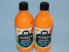 New Lot of 2 Moore's Blue Cheese Buffalo Wing Sauce Mild for Hot Wings! 16oz ea
