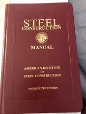 AISC Steel Construction Manual