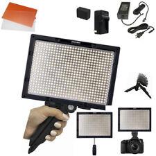Yongnuo YN600S LED Video Light 3200 5500K PRO KIT W/ AC adapter Battery Stand ++