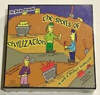 """""""The Spoils of Civilization"""" Game of Diplomatic Manipulation New Sealed"""
