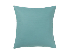 "NEW IKEA EBBATILDA BLUE GRAY DECO PILLOW CUSHION COVER 20x20"" 004.930.16 COTTON"