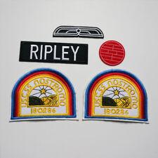5PCS Embroidery Alien Movie USSC Nostromo Sew Iron On Patch Badge Jeans Applique