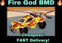 [Xbox] Fire God Decal Rocket League Xbox One- FAST Delivery *Trusted Seller*