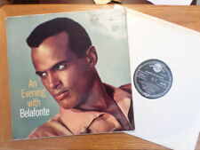 UK RCA LP RECORD RD 27001 MONO/HARRY BELAFONTE /AN EVENING WITH/ EX VINYL
