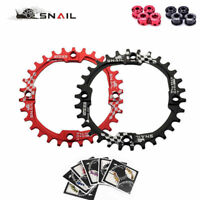 SNAIL 104BCD 30T MTB Bike Chainring 7075 Aluminum Narrow-Wide Chainwheel + Bolts