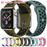 Replacement Silicone Band Sport Strap For Apple Watch Series 1 2 3 4 44mm 38mm