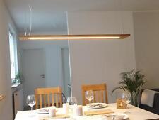 Hängelampe Leuchte Holz Eiche natur geölt Deckenlampe Hängeleuchte dimmbar