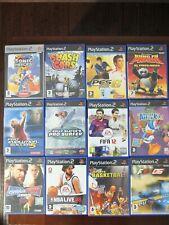 Lote de 12 Juegos PS2