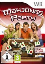 NINTENDO Wii Wii-U MAHJONG MAHJONGG PARTY Mahjongg Deutsch Sehr guter Zustand