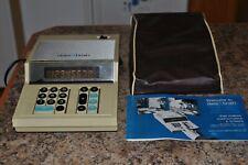 Vintage Collectible 1960's Data Brain Desktop Calculator