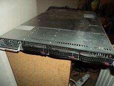 Supermicro SYS-6016GT-TF 1U Dual X5570  Tesla M2050 8Gb RAM 500GB HDD