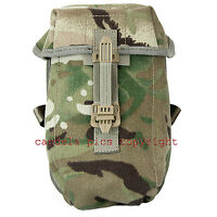 Genuine British Army Multicam MTP PLCE Water Bottle Pouch in New Condition