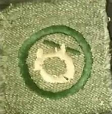 1928-1933 Girl Scout Badge FIRST AIDE - GREY GREEN SQUARE