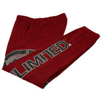 NWT ECKO UNLTD. AUTHENTIC MEN'S RED FLEECE JOGGER PANTS SIZE M L XL